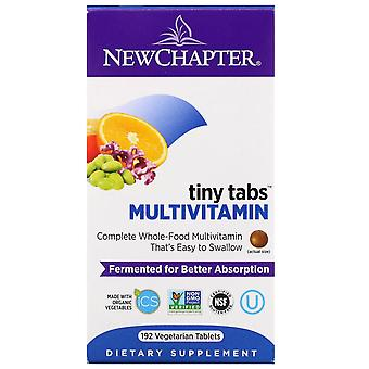 New Chapter, Multivitamin Tiny Tabs, Complete Whole-Food Multivitamin, 192 Veget