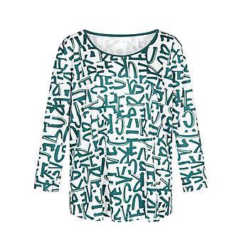 Courbe Rösch 1204523-11777 Femmes-apos;s Lettres Pyjama Top
