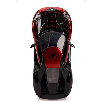 Spider-Man Miles Morales 2017 Ford GT 1:24 Hollywood Ride