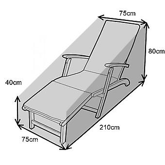 Homemiyn Outdoor Recliner Covers Anti-dust Cover Waterproof