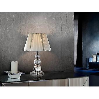 Lampe de table Chrome, E27