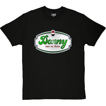 Donny van de Beek Black Men's T-Shirt
