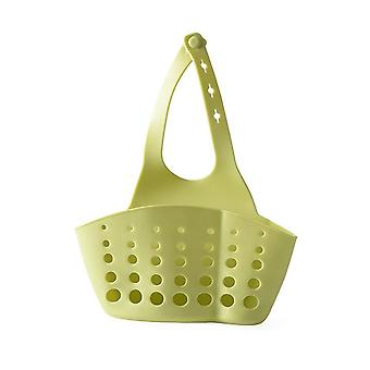 Ustensiles de cuisine Évier Double Drain Bag, Rack Sponge Pool Storage- Fournitures