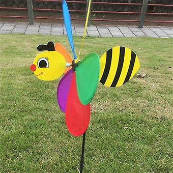 Colorful 3d Insect, Large Animal Bee, Ladybug Windmill - Garden Outdoor Classic