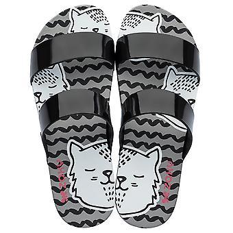 Womens Zaxy Sandals Share Cat Beach Sandals - Black