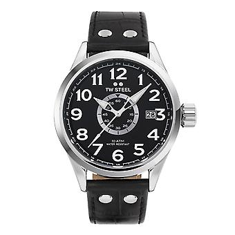 TW الصلب TWVS51 Volante الأسود الاتصال ساعة اليد
