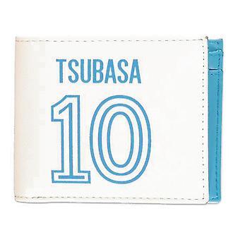 Captain Tsubasa Tsubasa 10 Logo Bi-fold Wallet Male White/Blue (MW846864CTS)