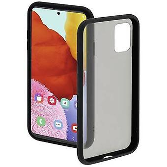 Hama näkymätön kansi Samsung Galaxy A51 musta, läpinäkyvä