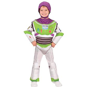 Buzz Lightyear Deluxe Disney Toy Story 4 Movie Book Week Child Boys Costume 3-5