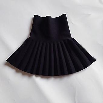 Girl Christmas Skirts Baby Winter Casual Mini Pleated Kids Clothes Princess Tutu Children 2-14 Years
