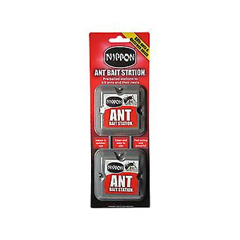 Vitax Nippon Ant Bait Station (Twin Pack) VTXABSTP
