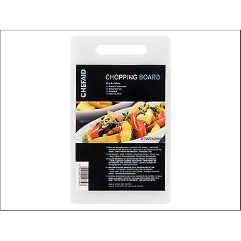 Chef Aid Polypropylene Chopping Board 25 x 15cm 10E10789