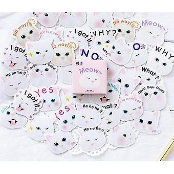 Waterproof Fun Stickers For Any Surface - Maroon
