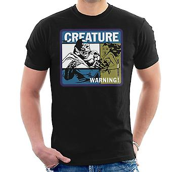 The Creature From The Black Lagoon Swim At Your Own Risk Men's T-Shirt