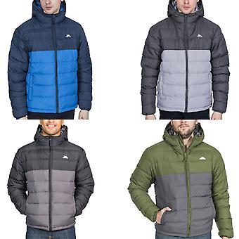 Trespass Mens Oskar Padded Water Resistant Outdoor Walking Hiking Coat Jacket