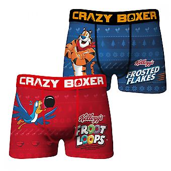 Frosted the Flakes and Fruit Loops Holiday 2-pack Underwear Boxer Briefs