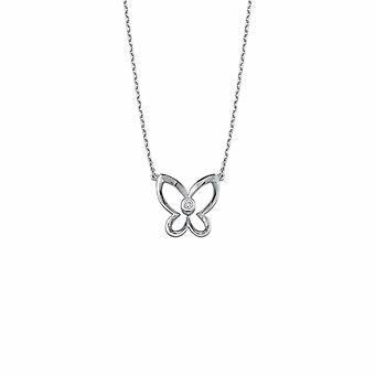 Collana di diamanti farfalla