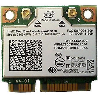 Intel kétsávos vezeték nélküli ac 3160 - hálózati adapter