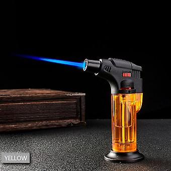 Windproof Refillable Lighter Torch Butane Chef Cook Adjustable Flame Bbq