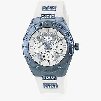 לנחש W0653L2 אנלוגי לבן חיוג נשים&s שעון