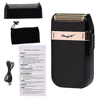 Professional barber hair clipper rechargeable electric