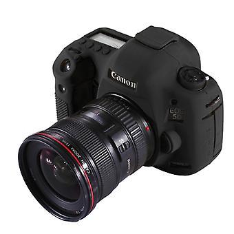 PULUZ Soft Silicone Protective Case for Canon EOS 5D Mark III / 5D3(Black)