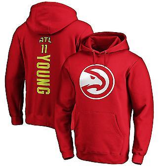 Atlanta Hawks Loose Pullover Hoodie Sweatshirt WY147