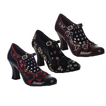 Ruby Shoo Mujeres's Camilla Mid Heel Mary Jane Zapatos