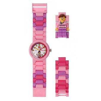 LEGO 8020806 Lasten kello Minihahmo tyttö