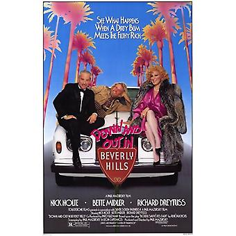 Down and Out in Beverly Hills Film-Poster (11 x 17)