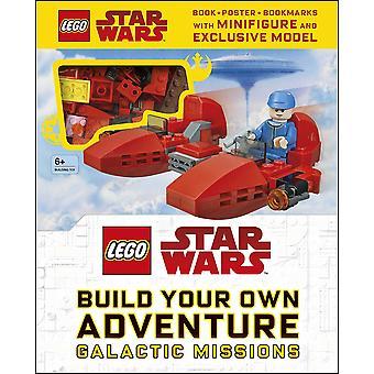 לגו מלחמת הכוכבים לבנות ספר הרפתקאות משלך & סט לבנים
