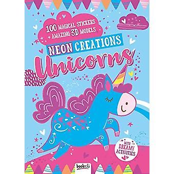 Unicorns  Neon Creations by Created by Bookoli Ltd
