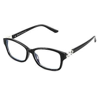 Computer-Brille blockieren Blaulicht Uv Anti Eyestrain Black Frame