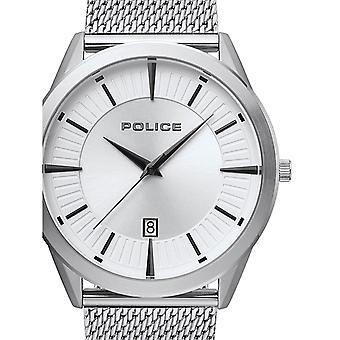 Mens Watch המשטרה PL15305JS.04MM, קוורץ, 45mm, 5ATM