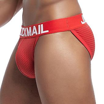 Brand Men Underwear Briefs Slip Mesh
