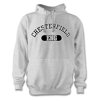 Ciudad de Chesterfield Inglaterra sudadera con capucha