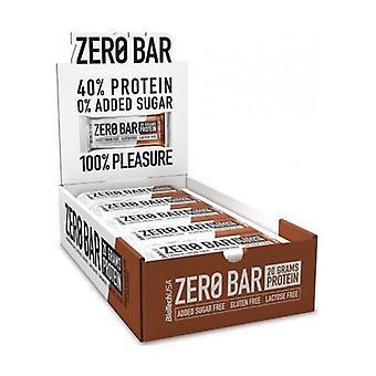 Zero Bar, suklaakeksit 20 yksikköä 50g