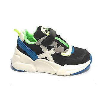 Scarpe Bambino Munich Sneaker Mini Track Nero/ Multicolor Zs21mu07 8890020