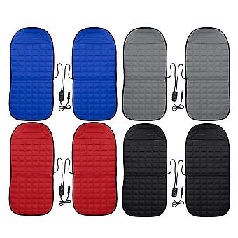 Car front seat heating cover pad with intelligent temperature controller 2pcs 12v