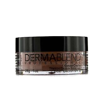 Dermablend Cover Creme Broad Spectrum SPF 30 (High Color Coverage) - Chocolate Brown (Exp. Date 10/2021) 28g/1oz