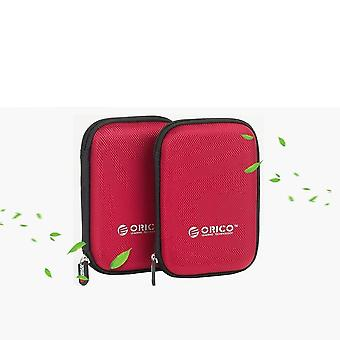 Portable External Hard Drive Protection Bag Dual Buffer Layer Hdd Protector