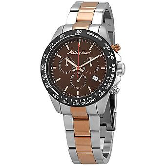 Mathey-Tissot Chronograph Quartz Brown Dial Men's Watch H901CHRM