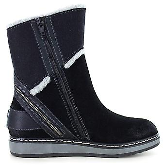 White Mountain Womens teague Leather Closed Toe Ankle Cold Weather Boots