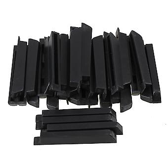 36pcs Piano Keyboard Black Keys Sharps Matte Paint for Piano Accessories