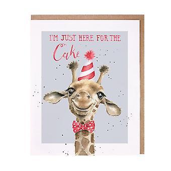 Wrendale Giraffe Birthday Card