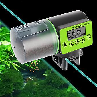 Smart Automatic Fish Feeder Aquarium Feeder Fish Tank Auto Feeding Dispenser with LCD Indicates Timer Aquarium Accessories