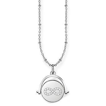 Thomas Sabo Silber Damen Anhänger Halskette - D_LBKE0001-725-14-L45v