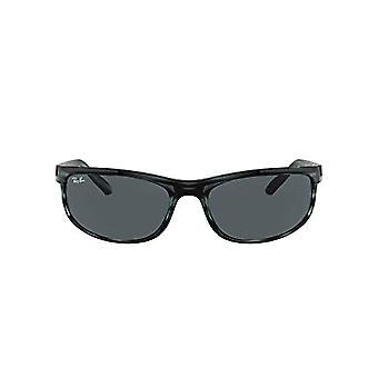 Ray-Ban Rb2027 Predator 2 Glasses, Havana Blue Striped, 62 Unisex-Adult