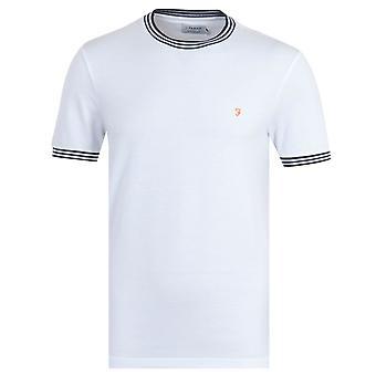 Farah Texas Organic Cotton White T-Shirt