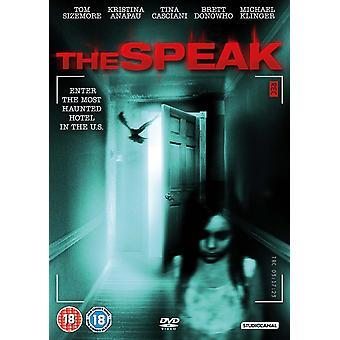 The Speak DVD